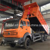 Macht Star Beiben 6X4 340HP 25ton Dump Truck in de Kongo