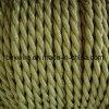 オリーブ色2のコア編みこみの照明ワイヤー