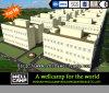 Edificio prefabricado verde modular estándar modificado para requisitos particulares lujo