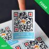 Kundenspezifischer D Barcode-Aufkleber des Produkt-Vierecks-