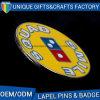 최신 판매 도매를 위한 연약한 사기질 접어젖힌 옷깃 Pin