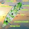 Único caiaque da pesca da Sentar-em-Parte superior (DH-CONGER)