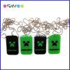 Étiquette de crabot à chaînes de Minecraft en métal de bille des cadeaux 24 de promotion