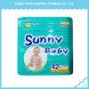 綿の上の通気性の明るい赤ん坊の使い捨て可能な赤ん坊のおむつ(製造者から)