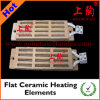 Elementi riscaldanti di ceramica piani
