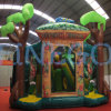 Lluvia Forest Safari Club Inflatable Jumper Bouncer House animoso para Sale