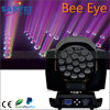 19PCS RGBW 4 in-1 LED Bee Eye Zoom Light