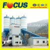 planta de procesamiento por lotes por lotes concreta inmóvil automática del control del PLC 180m3/H