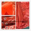 O rolo tecido HDPE de encerado da tela, LDPE revestiu a tampa de encerado do PE