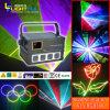 Luce laser 1W RGB di Writing DMX di animazione