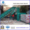 Horizontal automatico Hydraulic Paper Baler con Counting Wheel