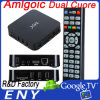 MX Cortex A9 Dual Core 1.5GHz RAM 1GB da tevê Box Amlogic-8726 de Google do Android 4.2