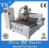 Máquina Herramienta Dos Auto Husillos cambiador CNC Madera