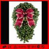 Im Freien attraktiver Feiertags-hängende Weihnachtswreath-Dekoration-Leuchte