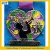 Kundenspezifische Andenken-Medaille für 5k, grosses Inneres, weicher Decklack