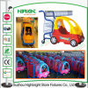 Plastikkind-Kind-Supermarkt-Einkaufen-Laufkatze-Wagen