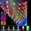 Decoração ao ar livre da árvore de Natal do pé do cobre da luz do grampo do diodo emissor de luz