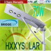 alta Bridgelux LED luz de calle solar integrada brillante de 70W