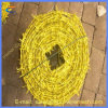 Горячая окунутая колючая проволока Bwg 12*14 PVC Coated