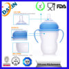 Food por atacado Grade 300ml Baby Feeding Bottle com Handle