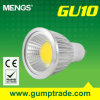 Mengs&reg ; GU10 5W Dimmable DEL Spotlight avec du CE RoHS COB, Warranty de 2 Years (110160021)