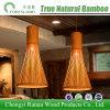 Lampada chiara Pendant di bambù del soffitto dell'indicatore luminoso LED per il ristorante dell'hotel