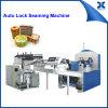 Automatc perfumou a lata retangular do talco que faz a máquina