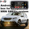 Interfaz video de la navegación androide del GPS para Peugeot Mrn 2008 Smeg+