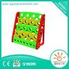 Estante plástico de Maganize del organizador del estante de libro de los niños con el certificado de Ce/ISO