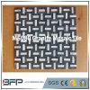Mattonelle Mixed bianche/blu di pietra naturali della parete del mosaico del granito di colore
