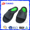 Deslizador barato negro y azul de EVA para los hombres (TNK35638)