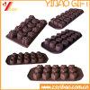 Vorm van het Silicone van de Verkoop van de douane de Hoogste voor Chocolade/Fondantje/Dessert