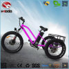 triciclo eléctrico del neumático gordo de la vespa de la rueda 500W 3 con la velocidad de Shimano