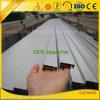 El aluminio anodizado perfila las protuberancias para el marco del panel solar