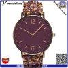 Relógios originais de quartzo de Japão Movt da faixa do engranzamento do aço inoxidável do Mens Yxl-633 2016