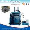 Vertikale hydraulische Schrott-Gummireifen-Ballenpresse-Hochleistungsmaschine