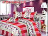 Huis van het poly/Reeks Van uitstekende kwaliteit van het Beddegoed van het Katoenen Kant de Textiel