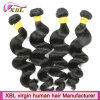 Trama frouxa da extensão do cabelo da onda do Virgin brasileiro do Weave do cabelo humano