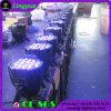 LEIDEN RGBW van de Disco 54X3w van DJ PARI 64 de Verlichting van het Stadium