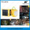 Banco solar portátil da potência da luz da lanterna do diodo emissor de luz