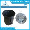 316 luz subaquática Recessed IP68 inoxidável do diodo emissor de luz do aço 9W