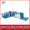 Auto Cutting e Sewing Machinery para Plastic PP Woven Bag Roll