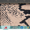 Couro ligado do teste padrão novo de couro sintético do PVC da patente do teste padrão da serpente para a bolsa