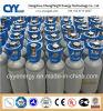 cilindro de gás de alta pressão do nitrogênio do oxigênio do aço 40L sem emenda