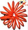PE rouge Plastic Air Hose Pipe du diamètre 8mm Spring Spiral Recoil pour Pneumatic System