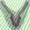 高品質は衣服のクラフトのためのハンドメイドのネックレスカラーに玉を付ける