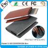 Protecteur en cuir de carte de qualité avec la pochette de détenteur de carte