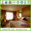 Ligne 100% blanche de lit d'hôtel de coton