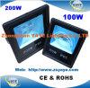 Yaye 18 Ce/RoHS/3yearsの保証が付いている最もよい販売法の穂軸200W LEDの洪水のライト/200W穂軸のLEDフラッドライト/200W穂軸のLEDトンネルライト