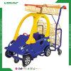 Het plastic Boodschappenwagentje van Kinderen voor Supermarkt
